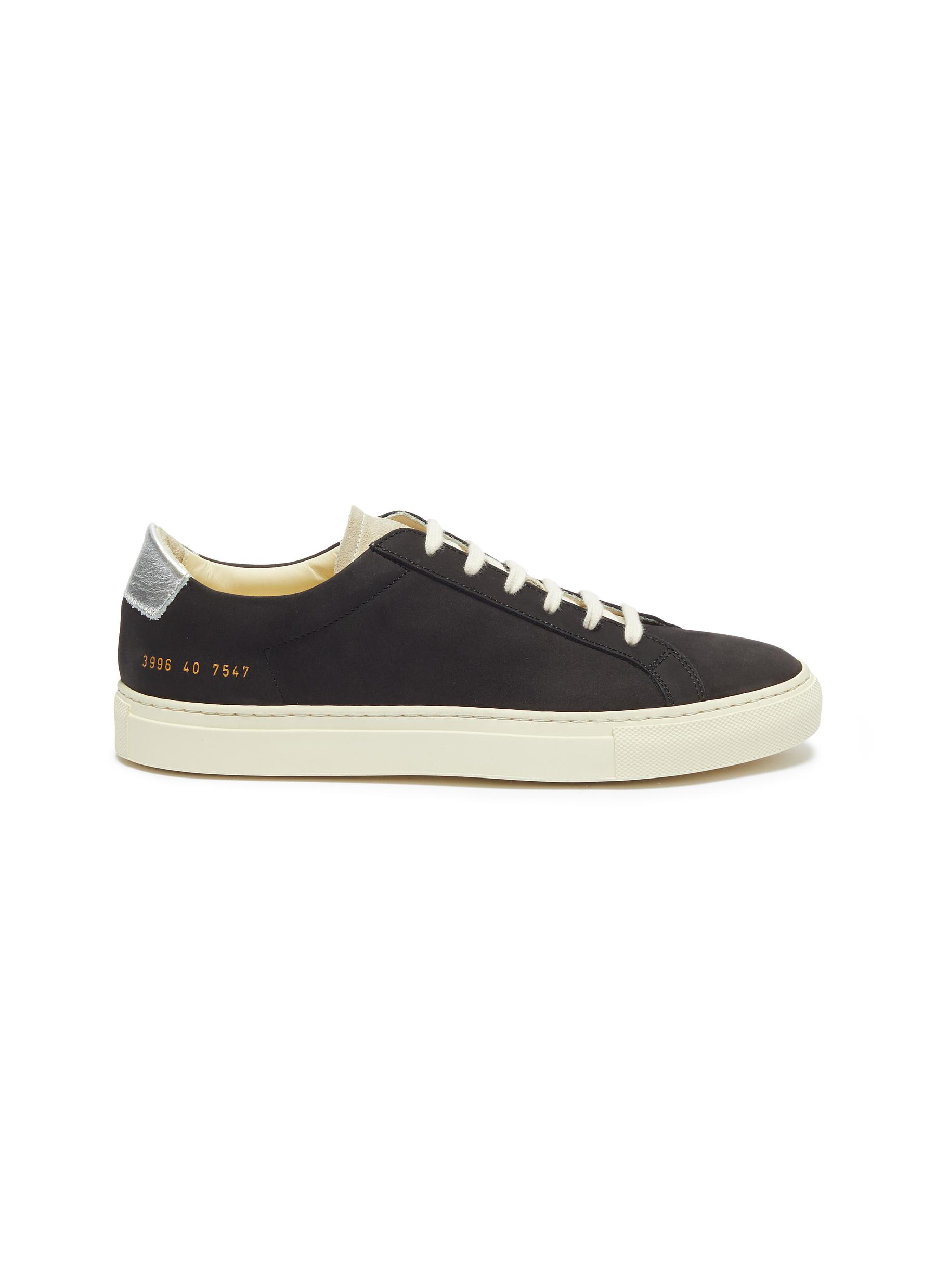 Retro Low leather sneakers by Common Projects
