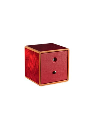 Main View - Click To Enlarge - AGRESTI - Briar Wood Watch Winder – Red