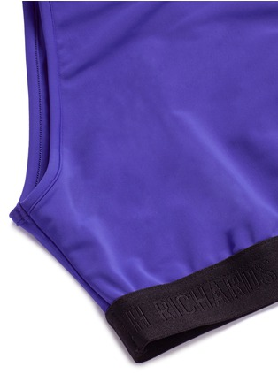 Detail View - Click To Enlarge - Beth Richards - 'Fel' logo cropped swim top