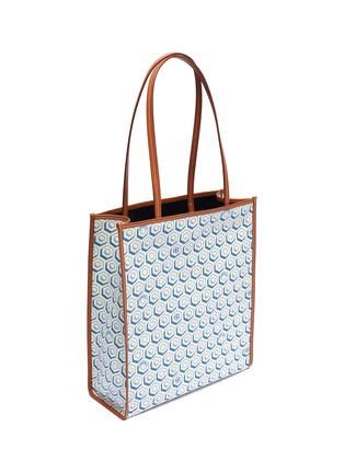 Detail View - Click To Enlarge - CONNOLLY - Geometric graphic print canvas shopper tote bag