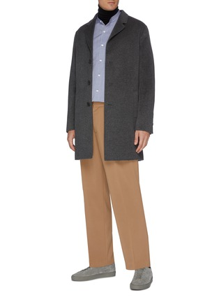 Figure View - Click To Enlarge - EQUIL - Cashmere lapel coat