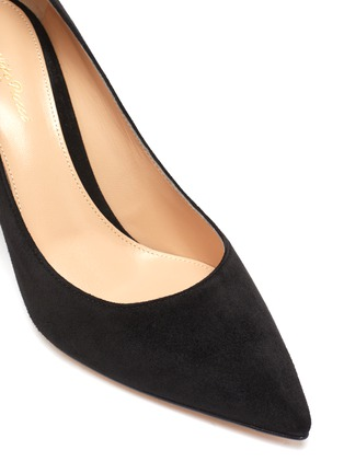 Detail View - Click To Enlarge - GIANVITO ROSSI - 'Piper' suede pumps