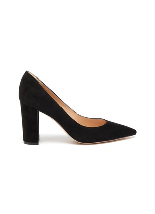 Main View - Click To Enlarge - GIANVITO ROSSI - 'Piper' suede pumps