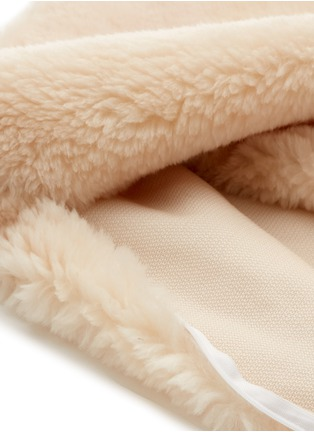 Detail View - Click To Enlarge - SHLEEP - The ShleepSkin™ standard pillow – White/Oatmeal