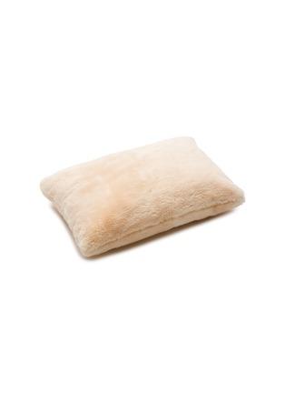 Main View - Click To Enlarge - SHLEEP - The ShleepSkin™ standard pillow – White/Oatmeal