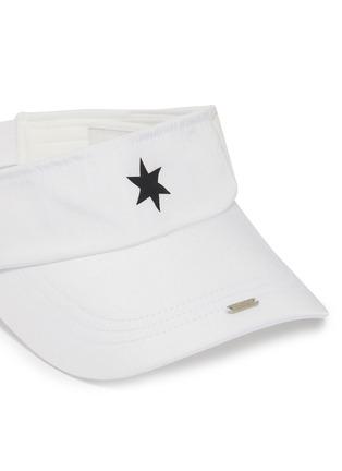 Detail View - Click To Enlarge - SMFK - 'Infinity' star appliqué visor