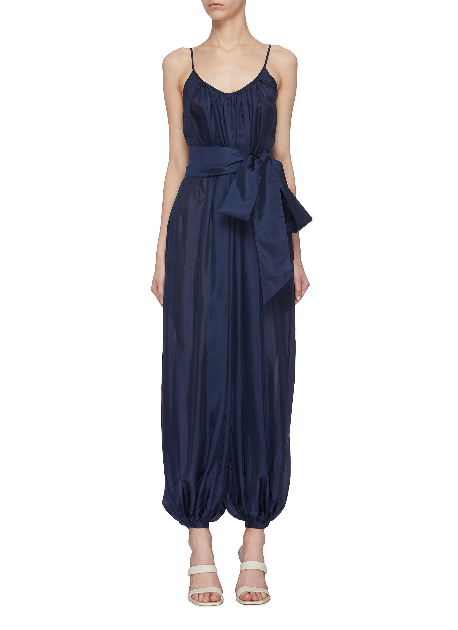 Buy Kalita Pants & Shorts 'Balloon' belted jumpsuit