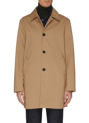Main View - Click To Enlarge - EQUIL - Mid length shirt collar raincoat