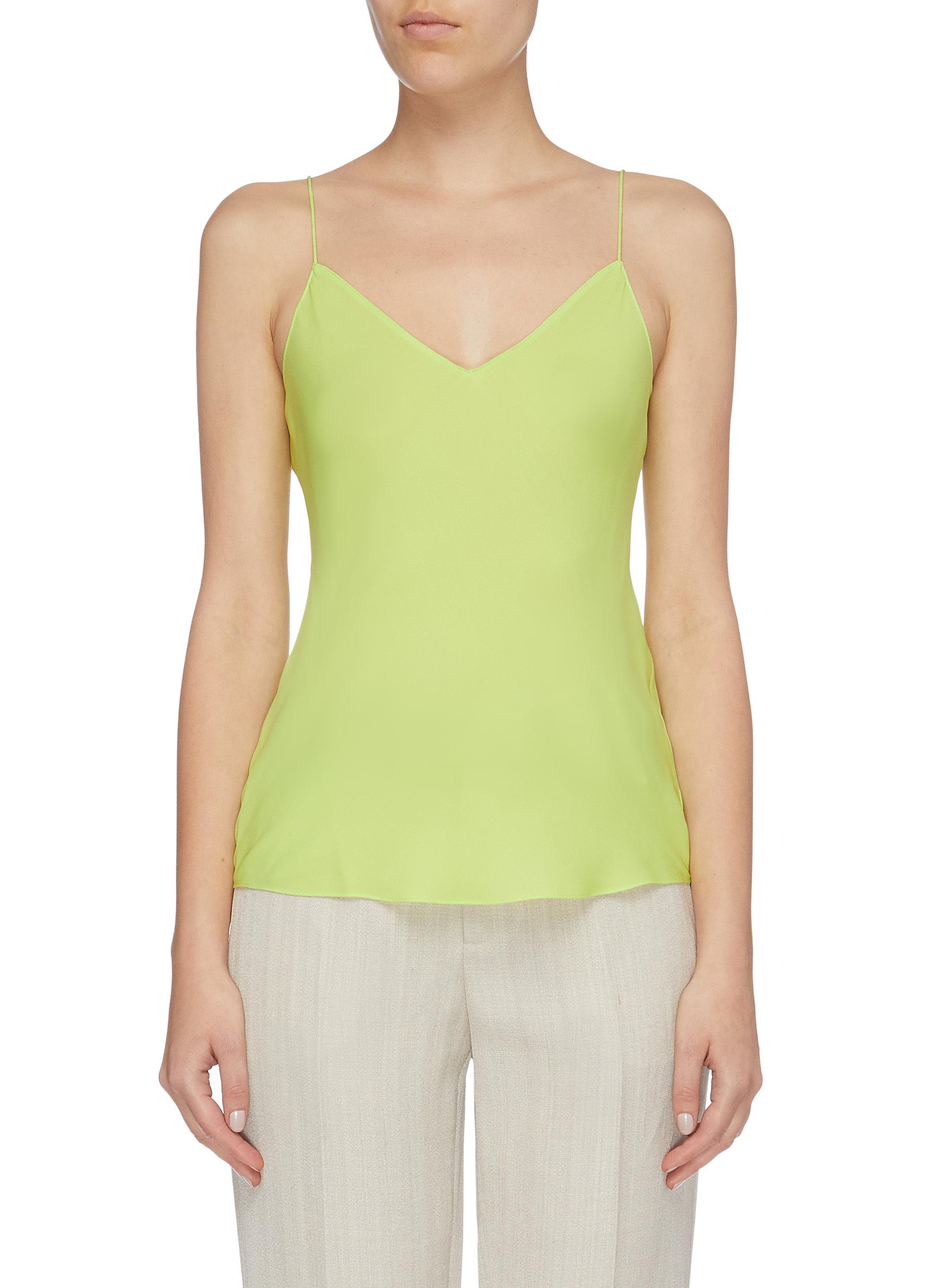 Easy silk georgette camisole top by Theory