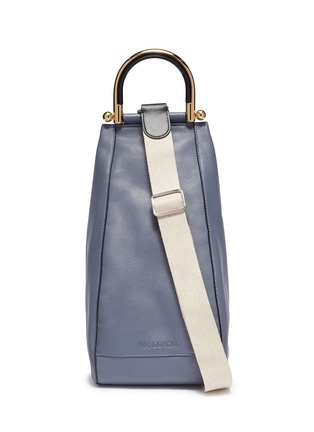 Main View - Click To Enlarge - JW ANDERSON - 'Wedge' leather bag