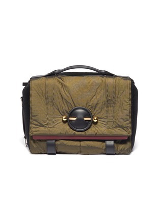 Main View - Click To Enlarge - JW ANDERSON - Barbell nylon satchel