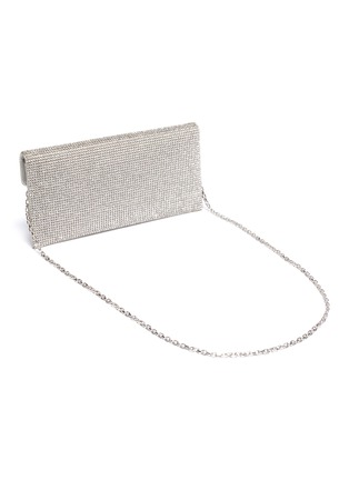 Detail View - Click To Enlarge - JUDITH LEIBER - Crystal pavé envelope clutch