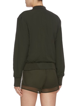 Back View - Click To Enlarge - THE UPSIDE - 'Chloe' bomber jacket