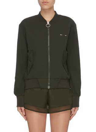 Main View - Click To Enlarge - THE UPSIDE - 'Chloe' bomber jacket