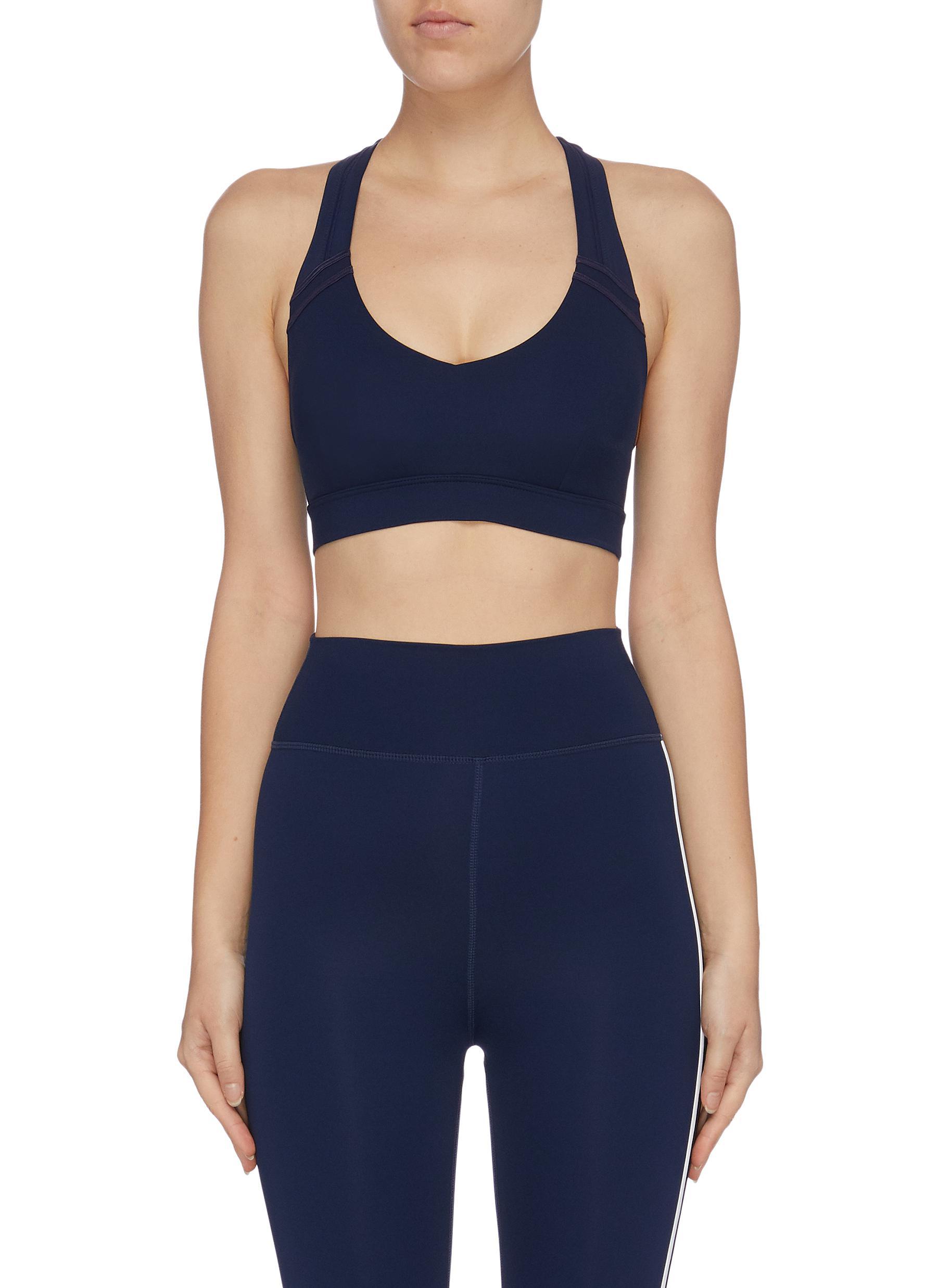 Vivi cutout back sports bra by The Upside