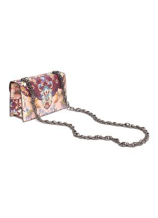 Detail View - Click To Enlarge - OSCAR DE LA RENTA - Floral print shoulder bag
