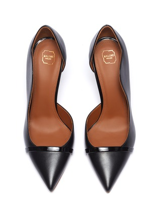 Detail View - Click To Enlarge - MALONE SOULIERS - 'Morrissey Luwolt' leather pumps