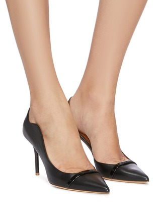 Figure View - Click To Enlarge - MALONE SOULIERS - 'Morrissey Luwolt' leather pumps
