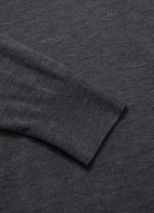 - DRIES VAN NOTEN - Stripe Merino wool turtleneck sweater