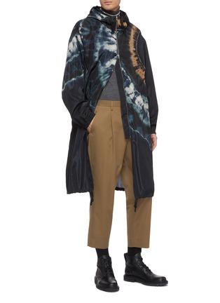 Figure View - Click To Enlarge - DRIES VAN NOTEN - Stripe Merino wool turtleneck sweater