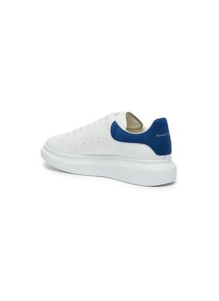 - ALEXANDER MCQUEEN - 'Oversized Sneaker' in leather with suede collar