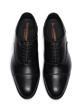 Detail View - Click To Enlarge - ALLEN EDMONDS - 'Bond Street' leather Oxfords