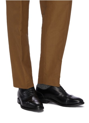 Figure View - Click To Enlarge - ALLEN EDMONDS - 'Bond Street' leather Oxfords