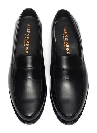 Detail View - Click To Enlarge - ALLEN EDMONDS - 'Wooster Street' leather penny loafers