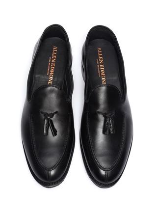 Detail View - Click To Enlarge - ALLEN EDMONDS - 'Spring Street' leather tassel loafers
