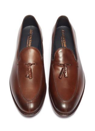 Detail View - Click To Enlarge - ALLEN EDMONDS - 'Spring Street' tassel leather loafers