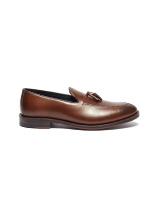 Main View - Click To Enlarge - ALLEN EDMONDS - 'Spring Street' tassel leather loafers