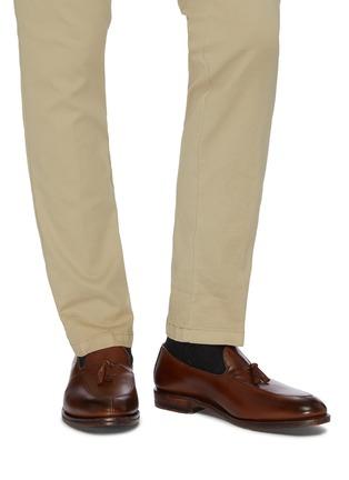 Figure View - Click To Enlarge - ALLEN EDMONDS - 'Spring Street' tassel leather loafers