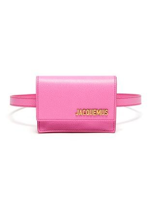 Main View - Click To Enlarge - JACQUEMUS - 'La ceinture Bello' mini belt bag