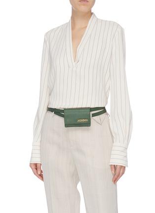 Figure View - Click To Enlarge - JACQUEMUS - 'La ceinture Bello' mini belt bag