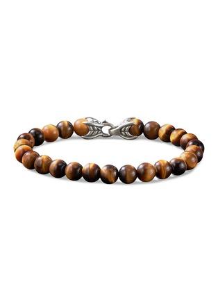 Main View - Click To Enlarge - DAVID YURMAN - 'Spiritual Beads' tigers eye bracelet