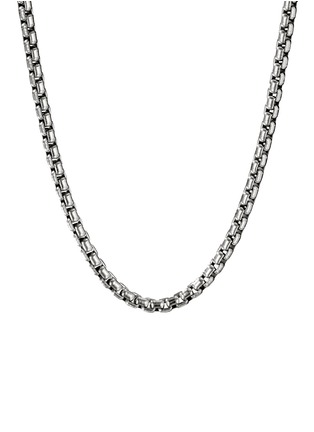 Main View - Click To Enlarge - DAVID YURMAN - Silver box chain necklace