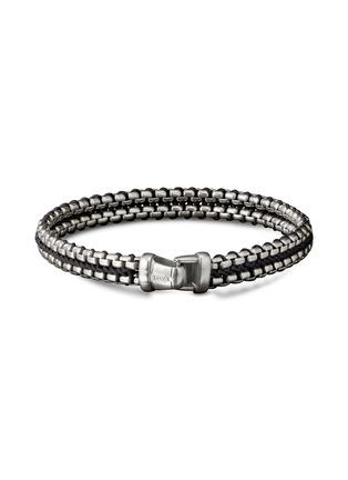Main View - Click To Enlarge - DAVID YURMAN - Woven box chain bracelet