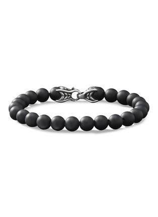 Main View - Click To Enlarge - DAVID YURMAN - 'Spiritual Beads' onyx bracelet