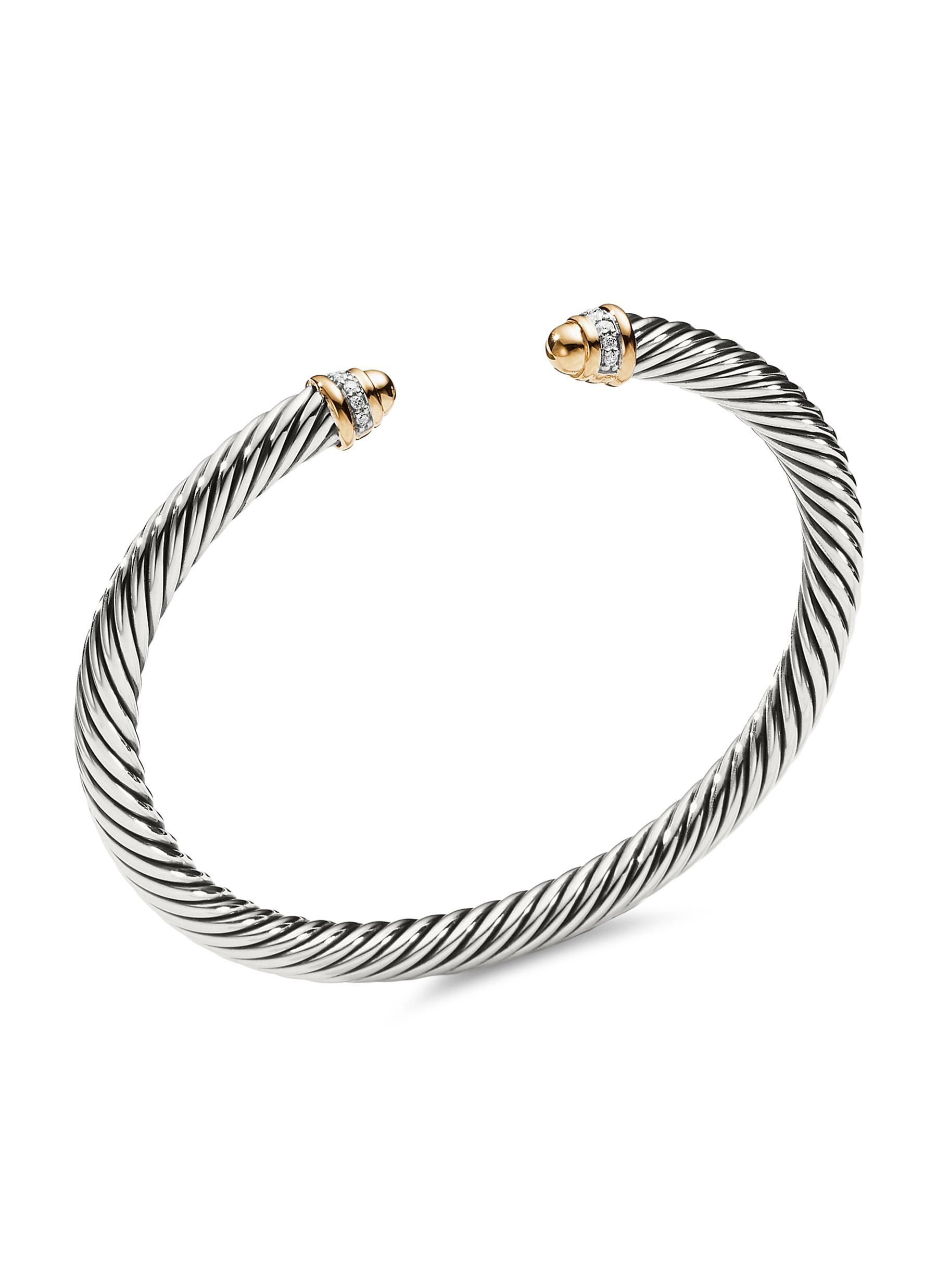 a22ce2f3eebce DAVID YURMAN | 'Cable Classics' diamond silver and 18k yellow gold ...