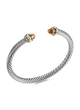 Main View - Click To Enlarge - DAVID YURMAN - Cable Classics' citrine silver and 14k yellow gold cuff