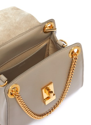 Detail View - Click To Enlarge - CHLOÉ - 'Annie' chain flap leather bag