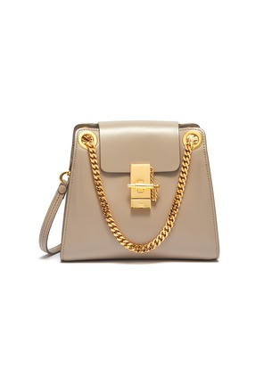 Main View - Click To Enlarge - CHLOÉ - 'Annie' chain flap leather bag