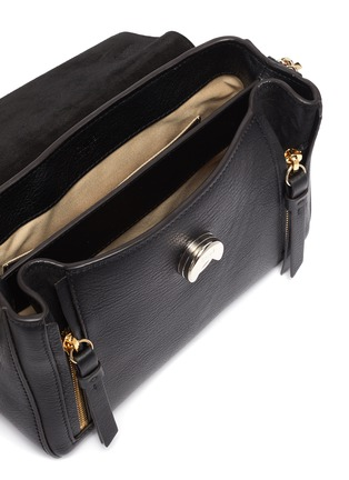 Detail View - Click To Enlarge - CHLOÉ - 'Faye Day' mini leather shoulder bag