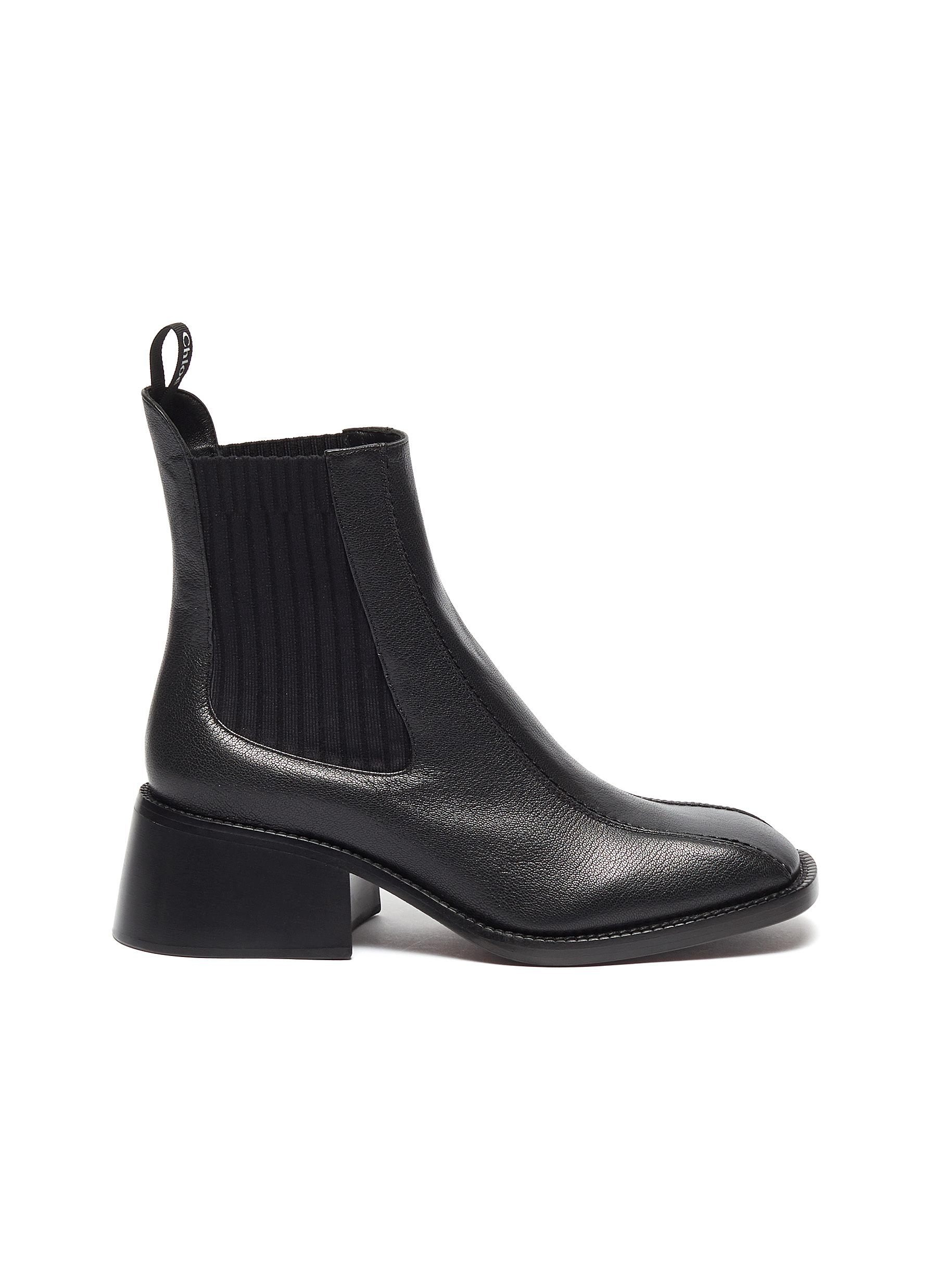 Bea leather Chelsea boots by Chloé