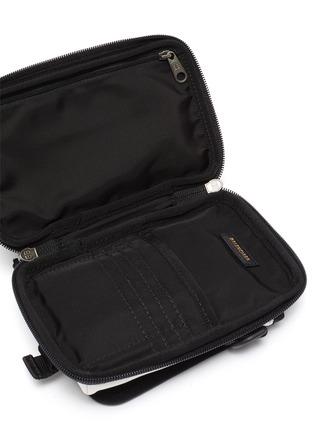 Detail View - Click To Enlarge - BALENCIAGA - 'Explorer' logo print crossbody pouch