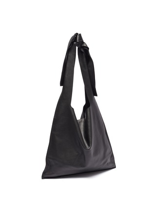 Detail View - Click To Enlarge - LOEWE - 'Bow' oversized hobo shoulder bag