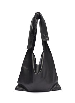Main View - Click To Enlarge - LOEWE - 'Bow' oversized hobo shoulder bag