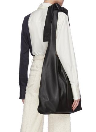 Figure View - Click To Enlarge - LOEWE - 'Bow' oversized hobo shoulder bag