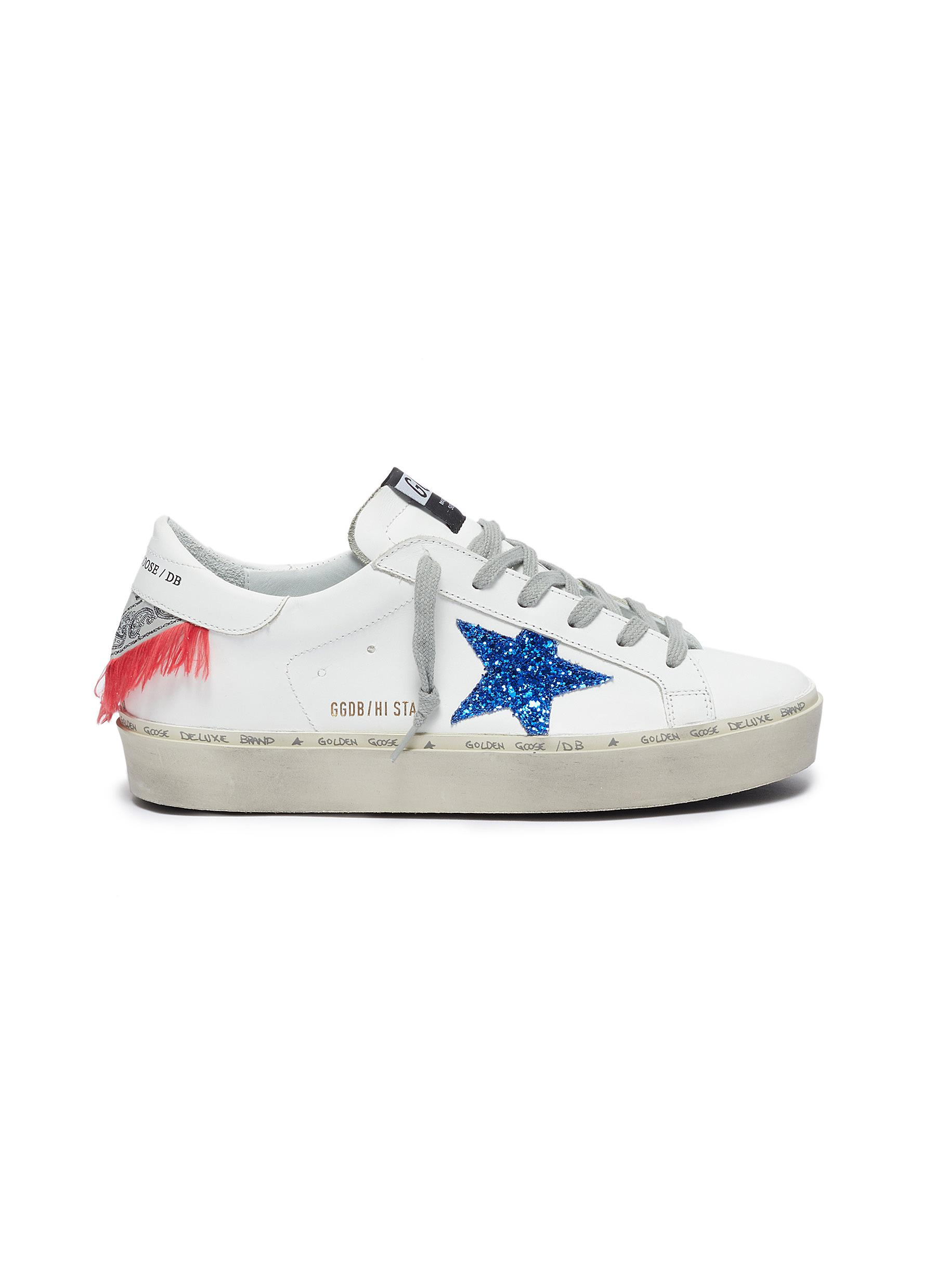 Frayed bandana counter sneakers by Golden Goose
