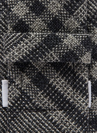 Detail View - Click To Enlarge - THOM BROWNE - Check plaid tie
